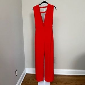 AQ/AQ red jumpsuit